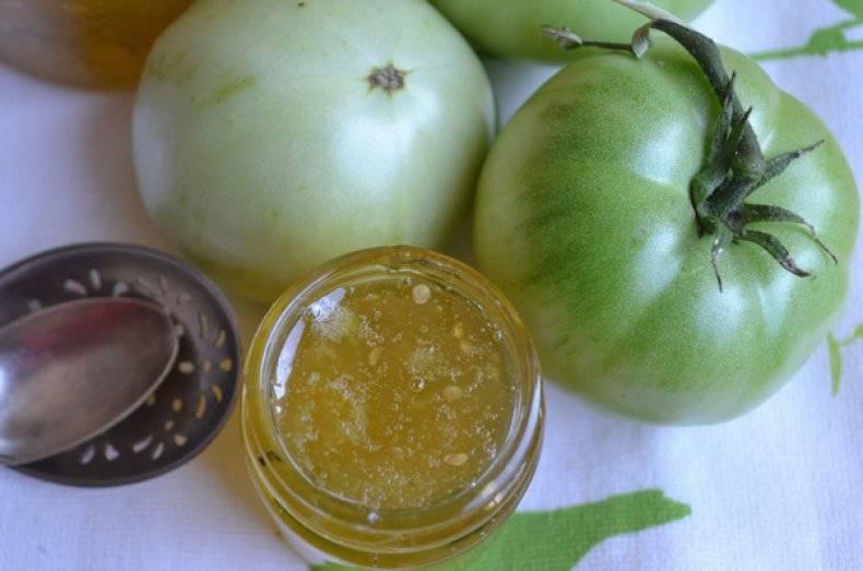 Варенье из зелёных помидоров