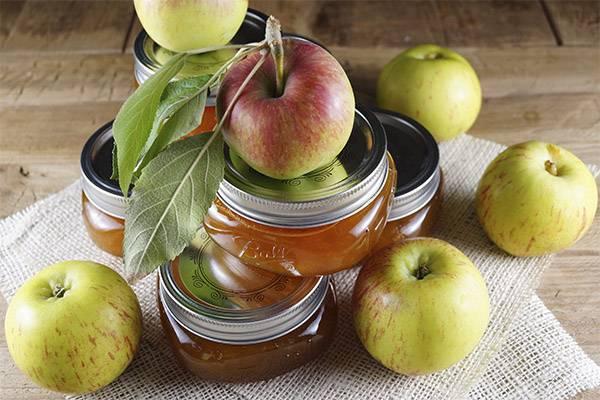 Варенье из яблочек