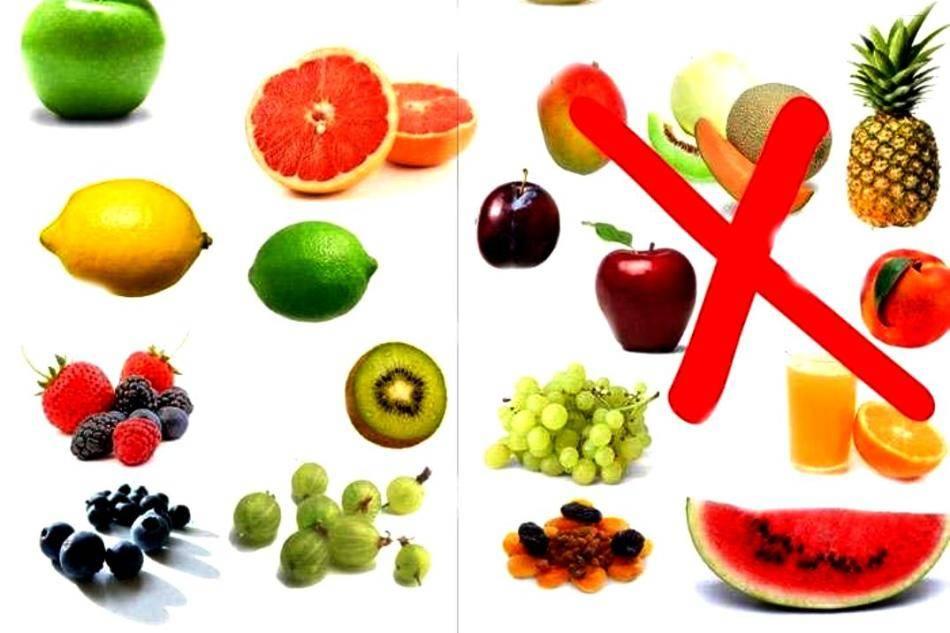 Какие фрукты можно при диабете 2 типа