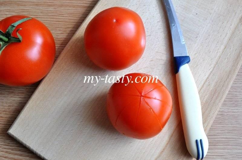 Шкурный вопрос, или как очистить помидоры от кожицы