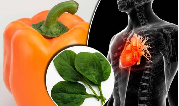 Какие фрукты и овощи являются наиболее полезными для сердца и сосудов — топ 9