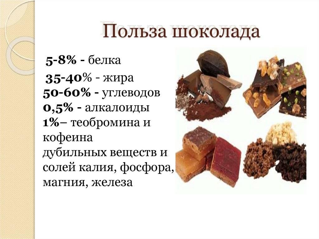 Чем полезен горький шоколад для красоты и здоровья человека?