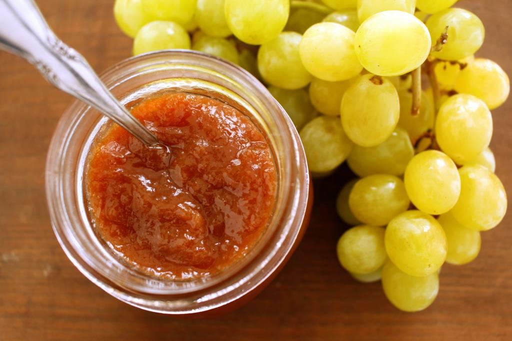 Рецепт туманова варенья из винограда
