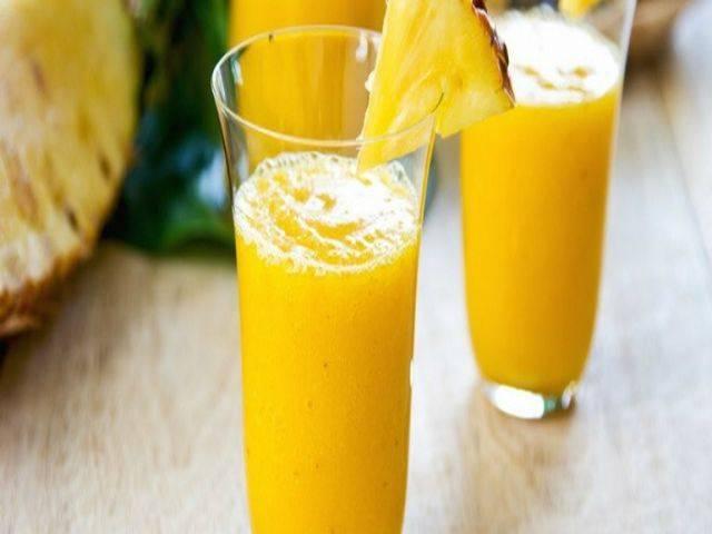 Ананасовый сок: польза и вред