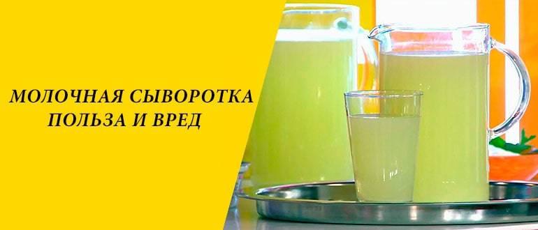 Полезные свойства молочной сыворотки для организма