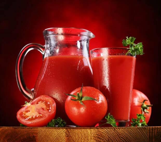 Томатный сок, его польза и вред для организма