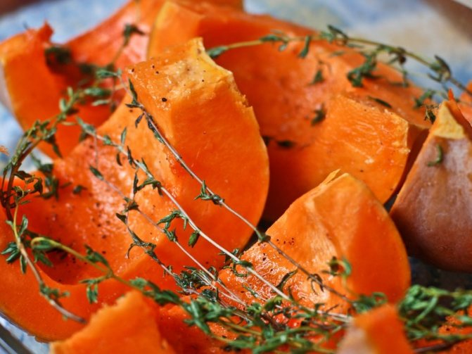 Полезные свойства печеной тыквы