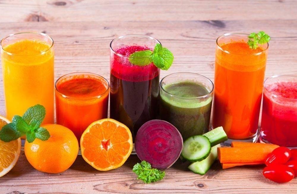 Лечение и очищение организма сырыми соками