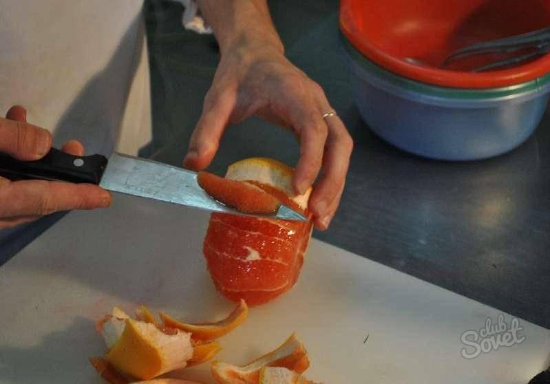 Чем и как можно чистить грейпфрут в домашних условиях?