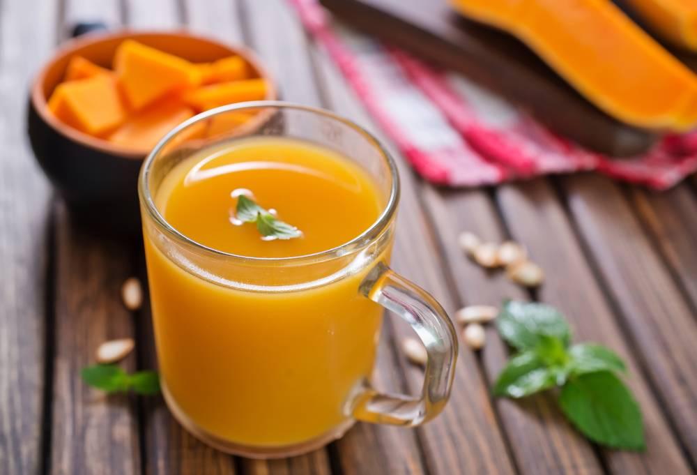 Тыквенный сок — польза и вред, как пить и лечиться