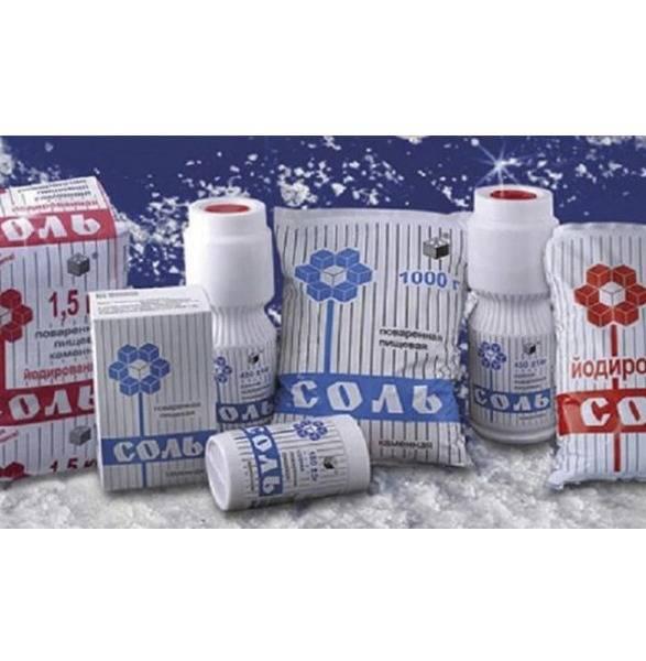 Польза и вред йодированной соли для организма человека