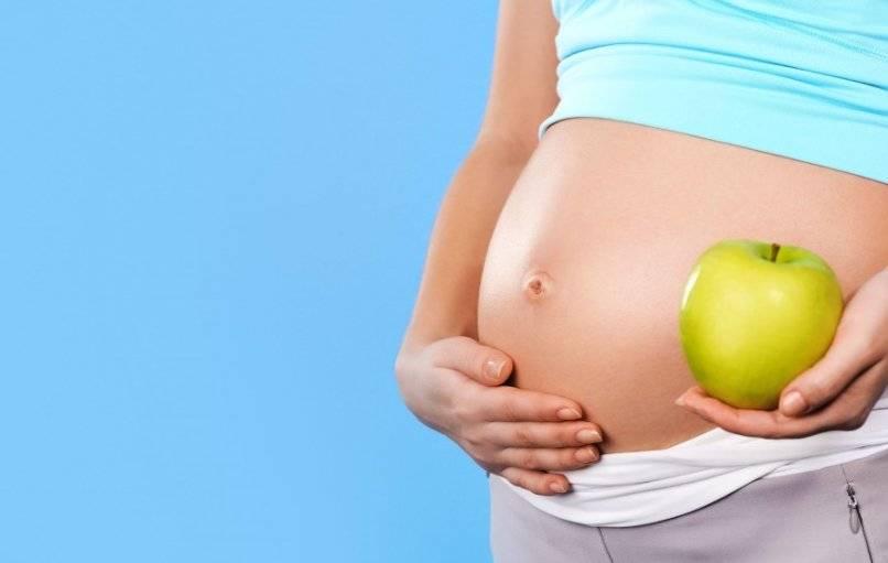 Можно ли употреблять яблоки при беременности на ранних и поздних строках