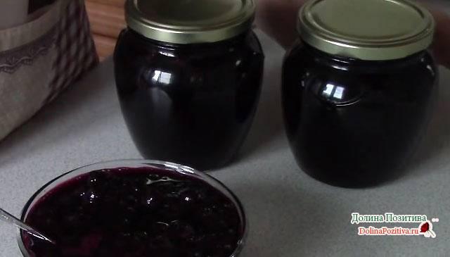 Варенье из черноплодки с яблоками, рецепты