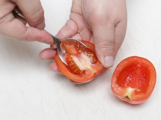 Как снять шкурку томата?