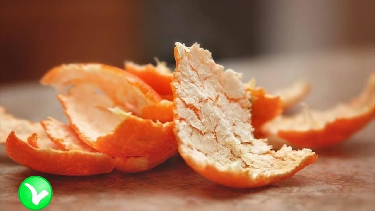 Апельсиновые корки польза и вред
