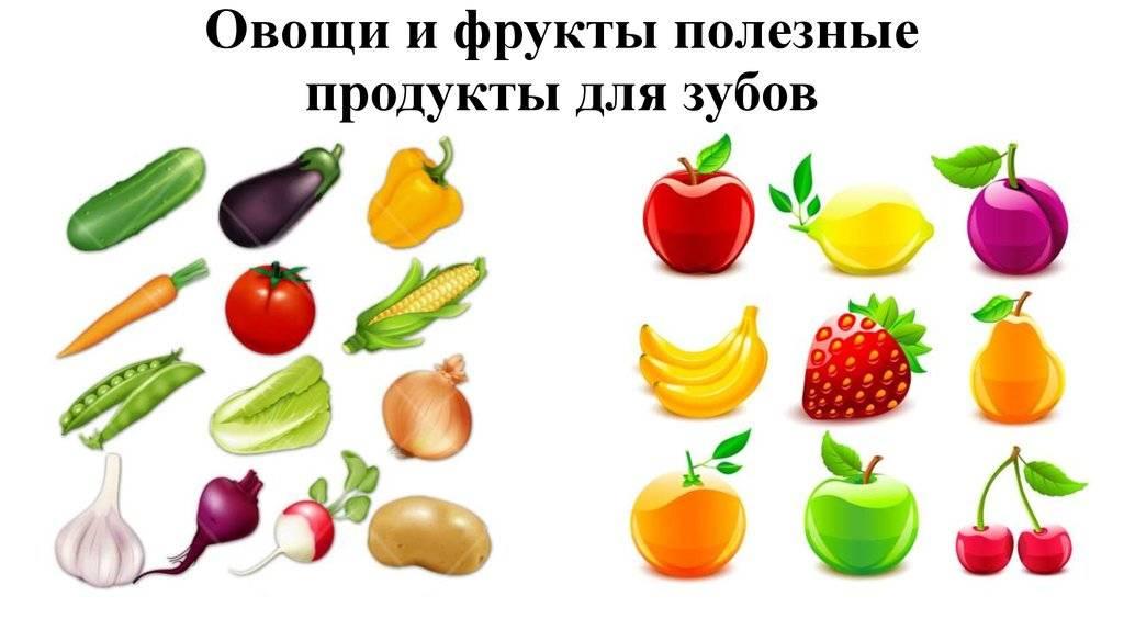 Витамины содержащиеся во фруктах и ягодах, таблица