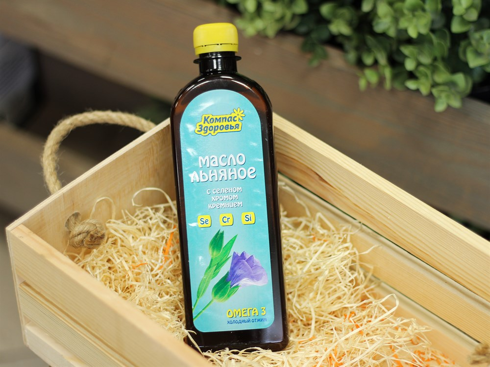 Узнайте как употреблять льняное масло с максимальной пользой