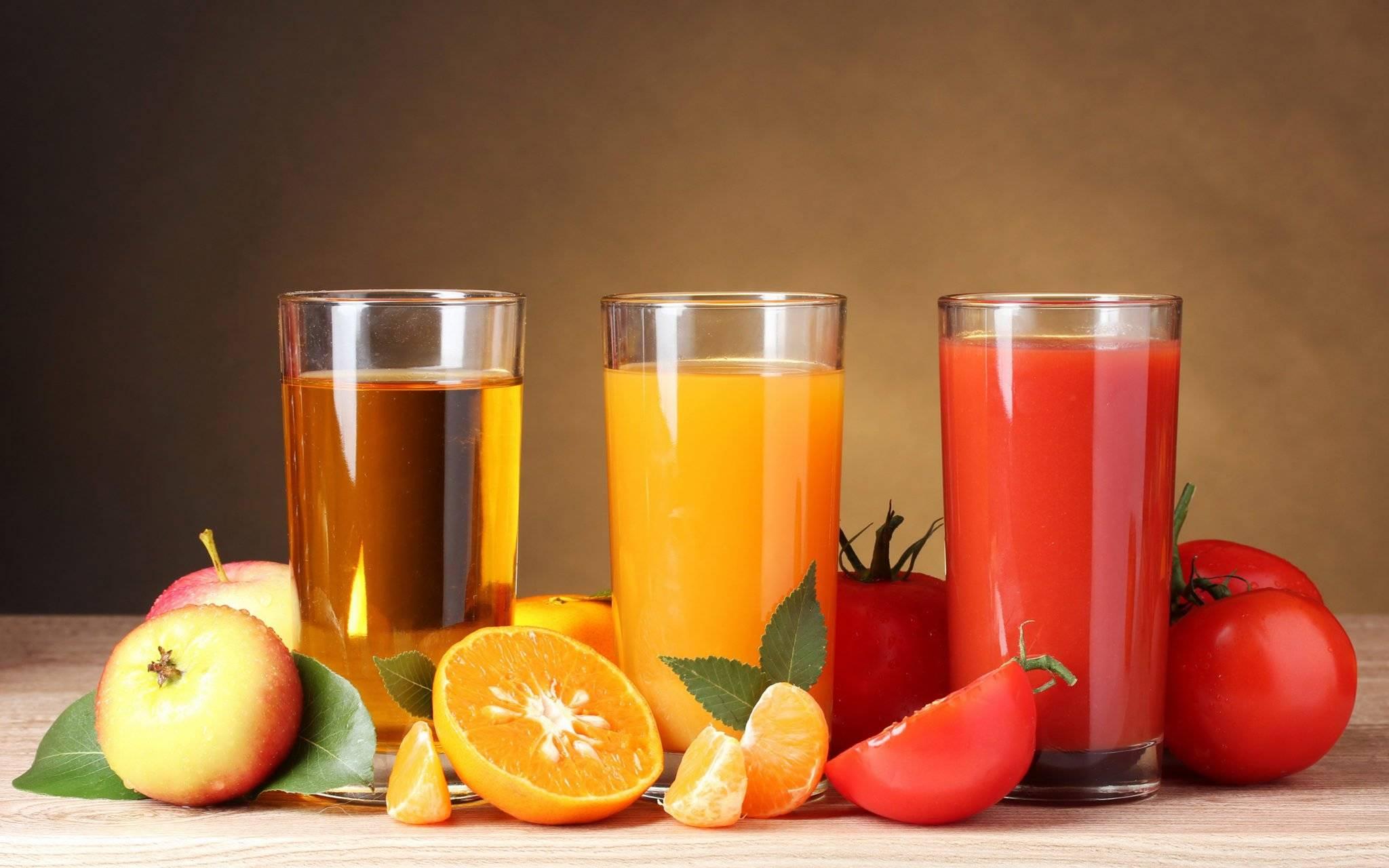 5 соков, которые помогут вывести камни из почек
